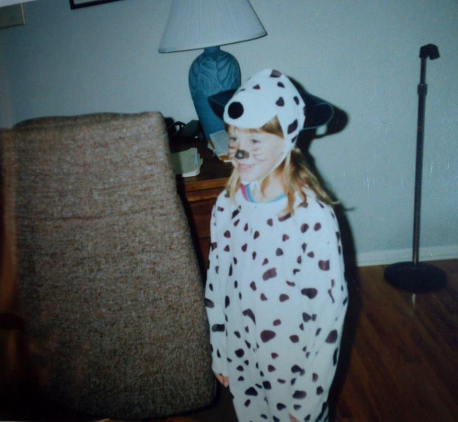 young Katy Bear